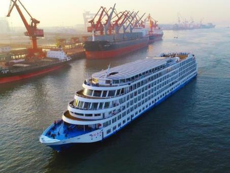 十一国庆世纪天子号三峡邮轮青岛出发到重庆-三峡-宜昌-武汉双飞六日游下水